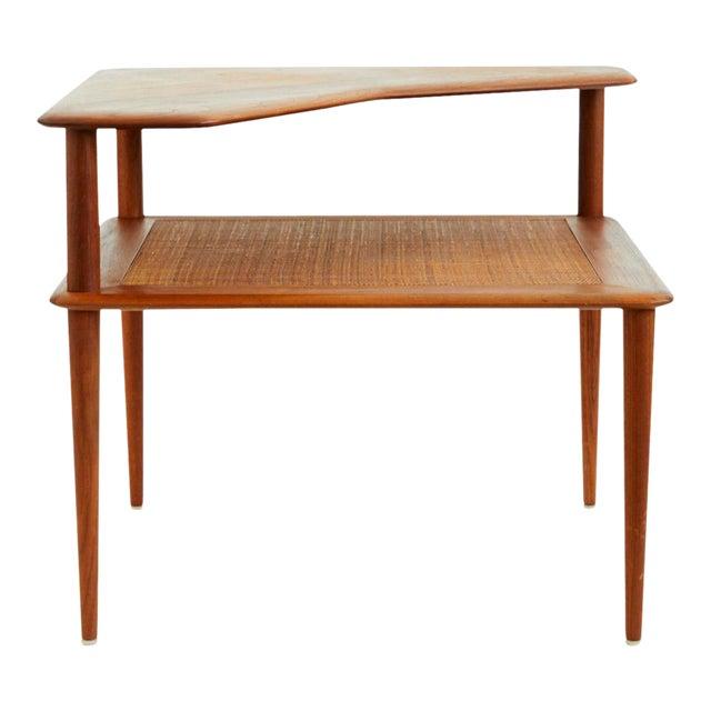 Peter Hvidt and Orla Mølgaard-Nielsen Scandinavian Modern Minerva Side Table For Sale