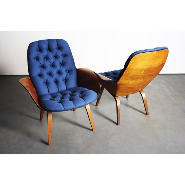 George Mulhauser for Plycraft Lounge Chairs - Pair - Image 7 of 11