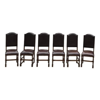 Vintage Castle Dining Chairs -Set of 6 For Sale