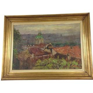Original Italy Landscape Oil Painting