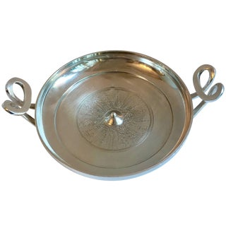 Silver Plate Greek Kylix Bowl For Sale