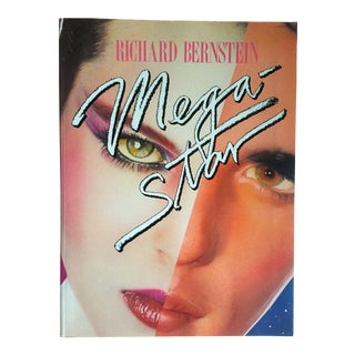 "Richard Bernstein 1984 Rare 1st Edition ""Megastar"" Pop Art Oversized Collector's Book For Sale"