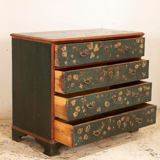 Once in awhile, we find an extra special piece that gets us excited and this chest of drawers is one of them. Why? It is...