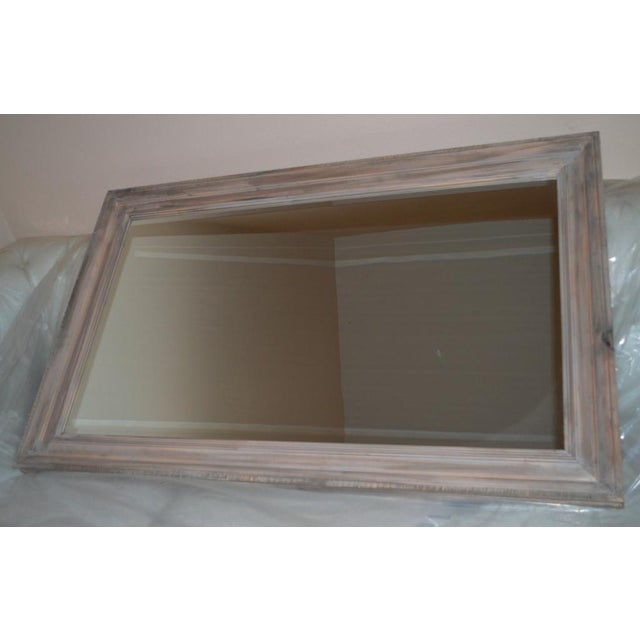 Reclaimed Wood Framed Mirror Clear Coat Matte 30'' X 48'' - Image 3 of 3