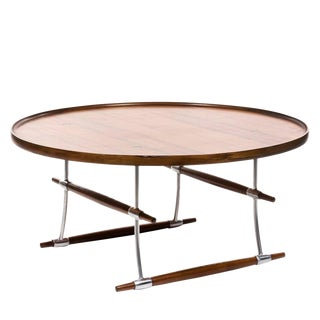 Jens Quistgaard, Stokke, Rosewood Coffee or Cocktail Table for Nissen For Sale