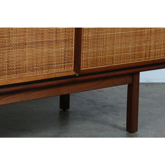 Walnut Cane Credenza by Founders - Image 9 of 11
