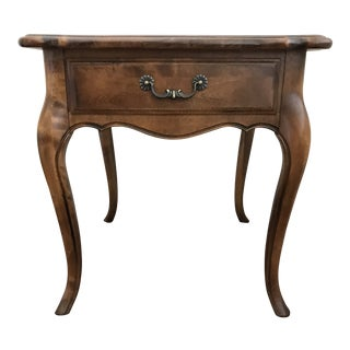 1990s French Country Ethan Allen Side Table For Sale