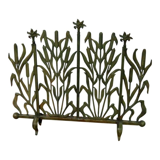 Art Deco Fireplace Screen For Sale