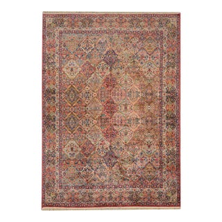 Early 20th Century Karastan Kirman Rug For Sale