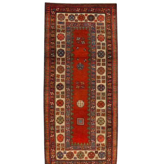 Antique Caucasian Talish Rug For Sale