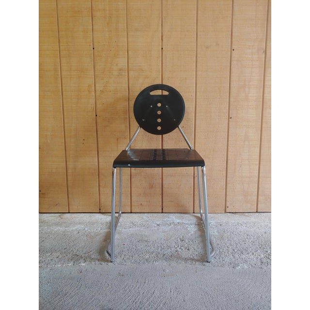 "Bimbi Gioacchini for Segis Memphis Style ""Charlie"" Chair For Sale - Image 11 of 11"
