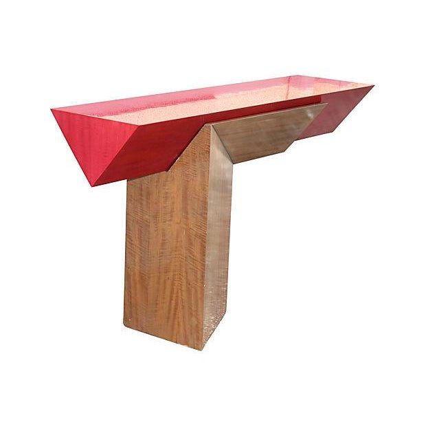 Floating Memphis-Style Console - Image 4 of 7