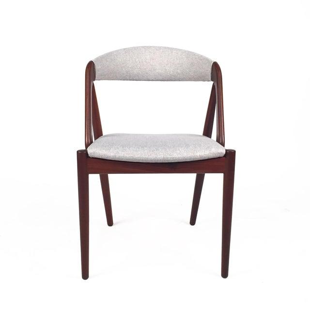 Vintage Danish Kai Kristiansen Model #31 Teak Dining Chairs - Set of 4 - Image 2 of 9