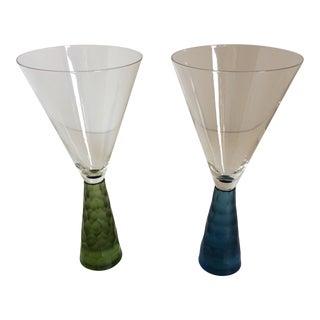 "Vintage ""Artland Presscott Collection"" Wine Glasses - A Pair"