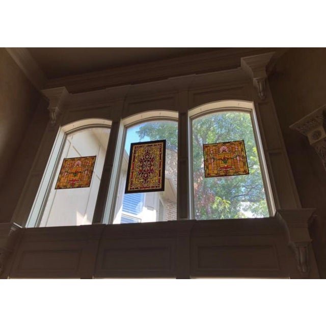 Bought these panels off previous owner when we moved into this house because they were perfect for the large windows....