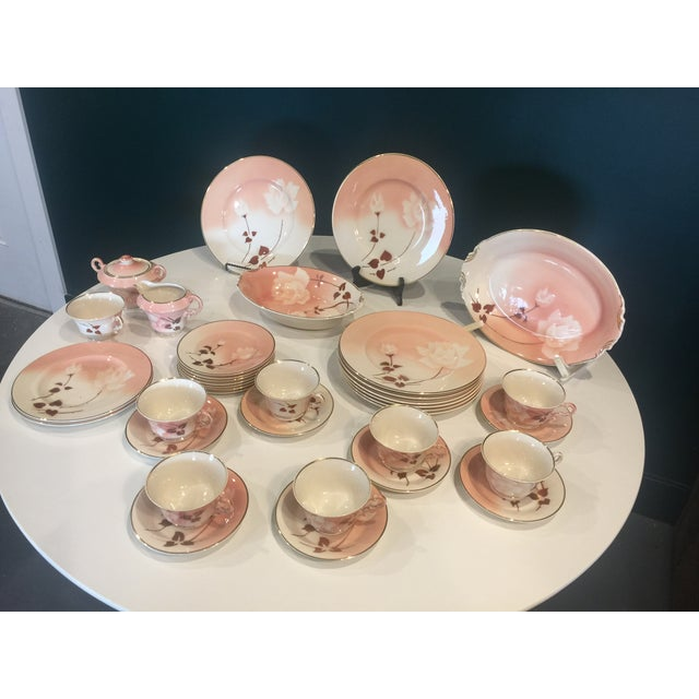 Art Deco Syracuse Old Ivory Madam Butterfly Luncheon China - 36 Piece Set For Sale - Image 12 of 12