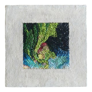 """Modern """"Northern Lights"""" Venetian Smalti Micromosaic Picture For Sale"""