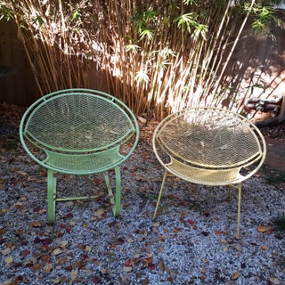 Mid Century Modern Radar Lounge Patio Chairs by Salterini - a Pair Preview
