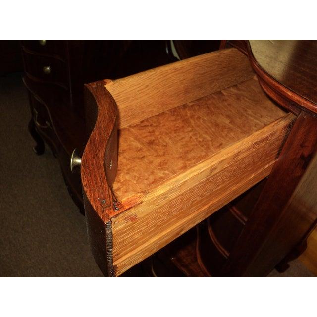 Antique Mahogany Jean Harlow Vanity For Sale In Saint Louis - Image 6 of 10