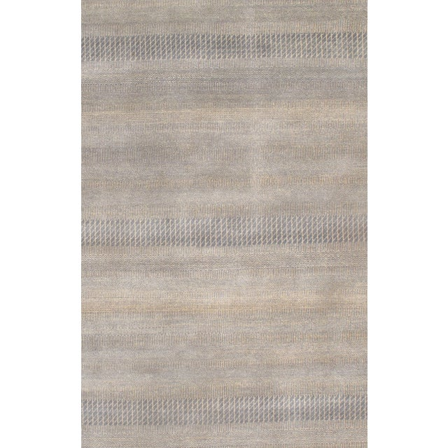 Hand Knotted Modern Wool Rug - 8' X 10' - Image 2 of 2