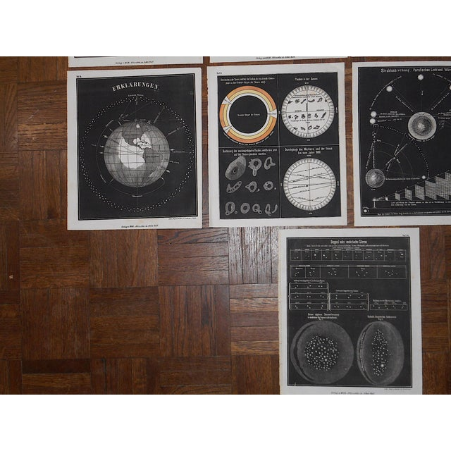 Realism Antique 19th Century Astronomical Lithographs-Celestial Maps/Charts-Set of 13 For Sale - Image 3 of 7
