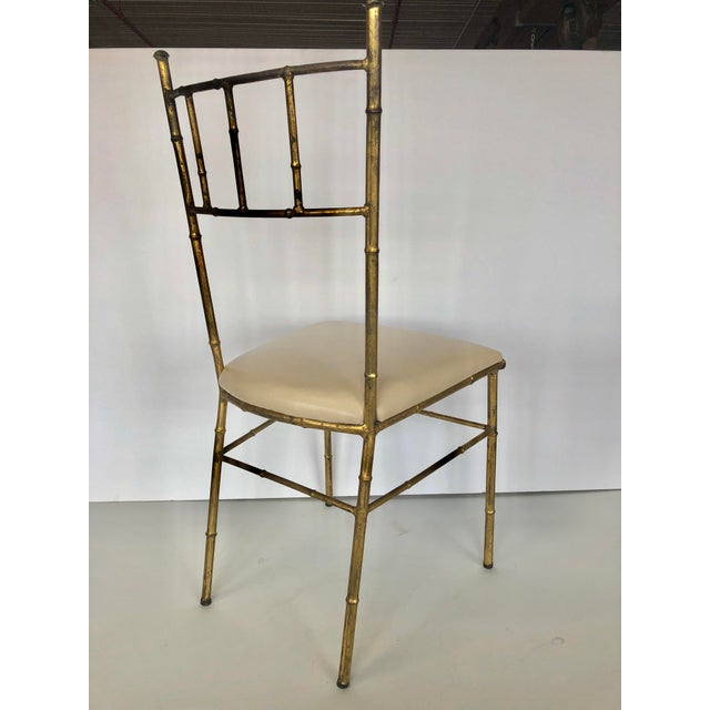 1950s Mid Century Italian Side Chair For Sale - Image 4 of 5