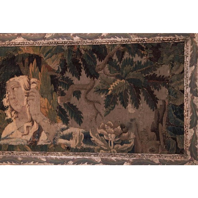 18th Century Framed French Aubusson Tapestry For Sale In Dallas - Image 6 of 10