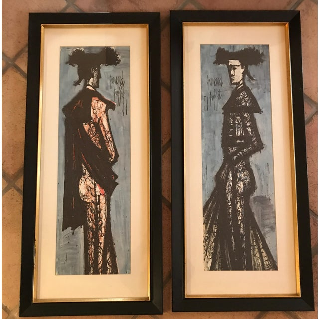 Incredible Bernard Buffet Matador Framed Prints A Pair Download Free Architecture Designs Scobabritishbridgeorg