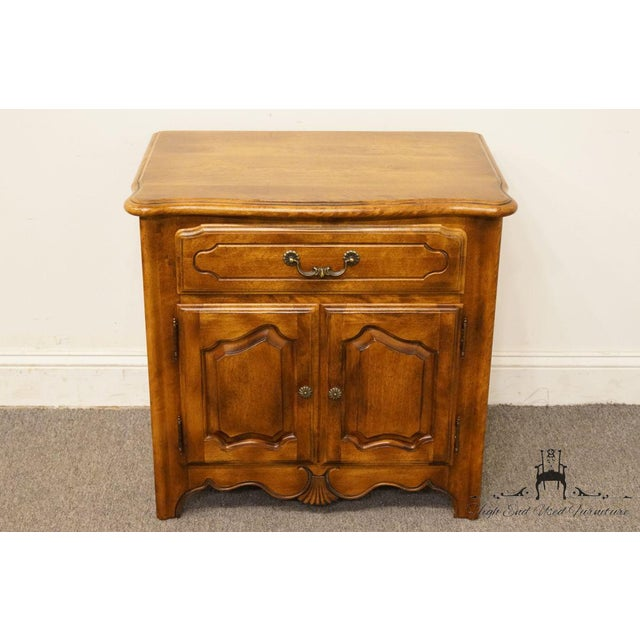 """Traditional Ethan Allen Country French Collection 26"""" Nightstand 26-5316 - Finish 236 For Sale - Image 3 of 13"""
