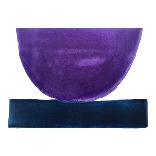 """Concord Grape and Navy"" - Mix and Match Bowls by Jenny Andrews Anderson"
