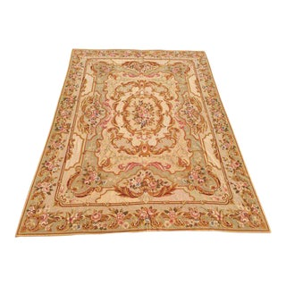 Aubusson Needlepoint Rug - 9' X 12' For Sale