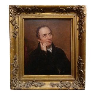 19th Century English School -Portrait of a Gentleman -Oil Painting C.1820/40s