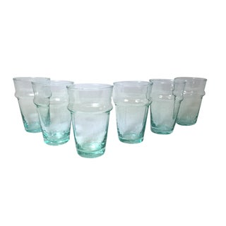 Beldi Clear Tea Glasses - Set of 6 For Sale
