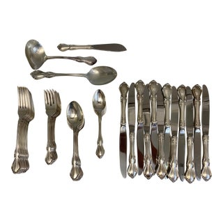 1960s Reed & Barton Hampton Court Sterling Silverware - 63 For Sale