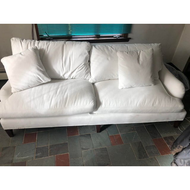 Essex Ruffin Sofa by Crate and Barrel For Sale - Image 11 of 12