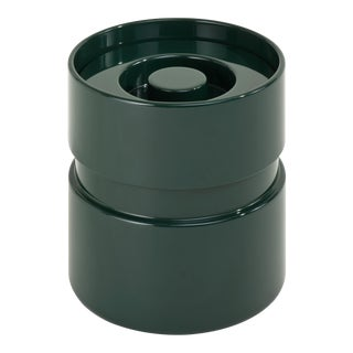 Rita Konig Collection Ice Bucket in Bottle Green For Sale