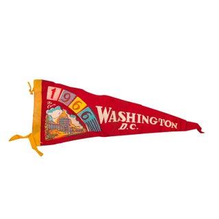1966 Washington, DC Felt Flag For Sale