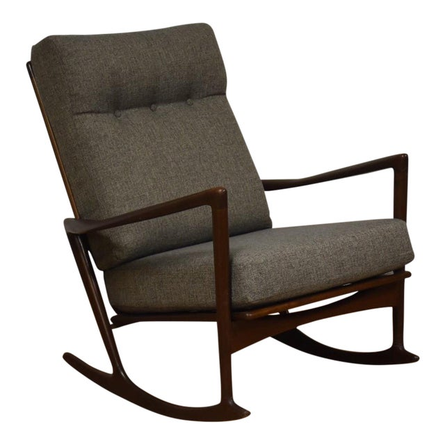 Ib Kofod Larsen for Selig Rocking Chair - Image 1 of 11