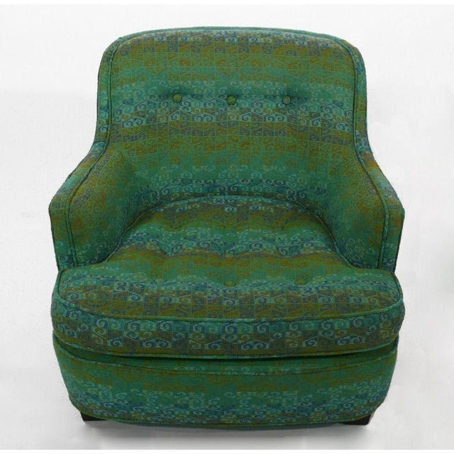 Modern Diminutive Edward Wormley Dunbar Club Chairs For Sale - Image 3 of 7