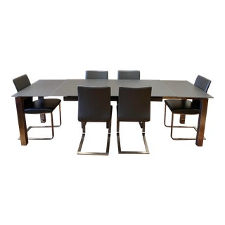 Kube Imports + Metro Orione Extendable Dining Set For Sale
