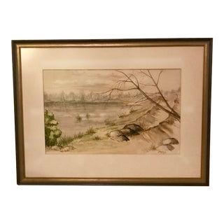 Original Watercolor For Sale
