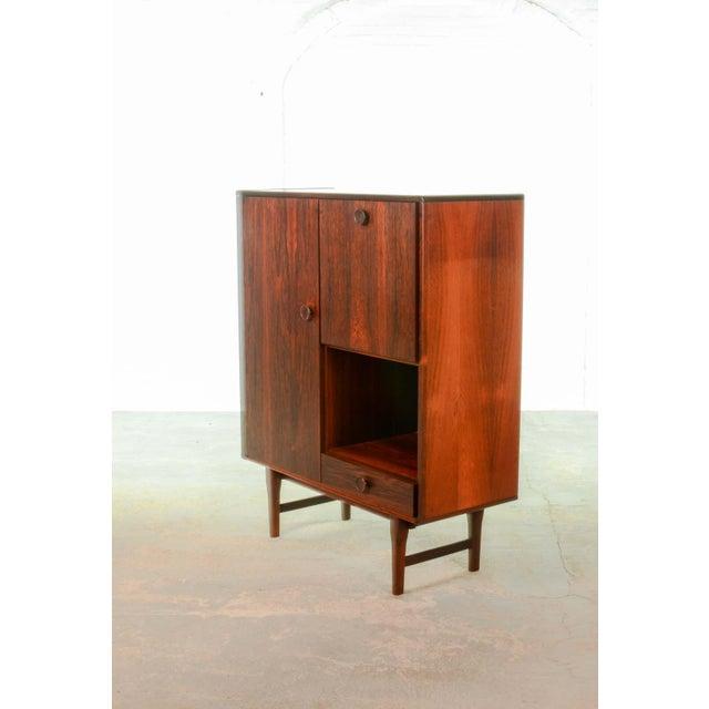 Elegant Mid-Century Dutch Design Rosewood Bar Cabinet for Fristho Franeker, 1960s For Sale - Image 12 of 13
