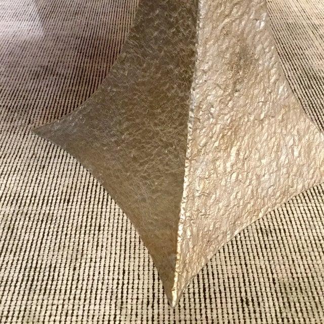 Cerused Oak Round Pedestal Table - Image 5 of 7