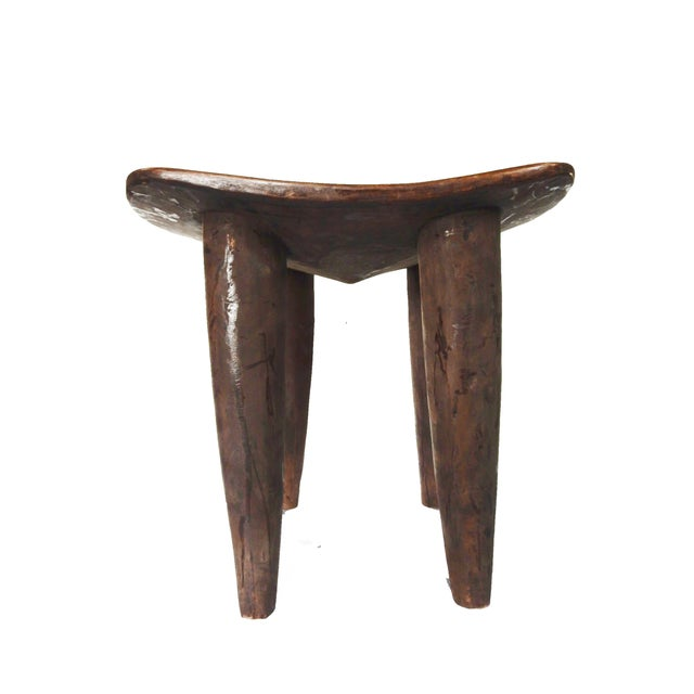 Hand-Carved Senufo Stool - Image 2 of 2