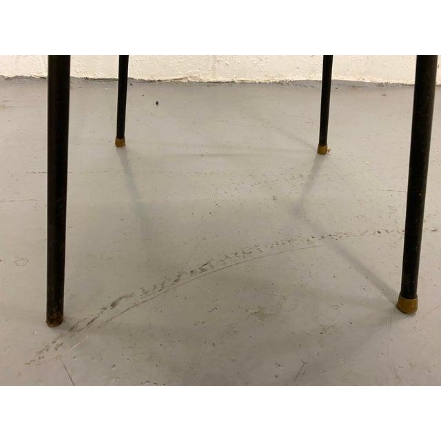 1960s Mid Century Modern Atomic Swivel Bar Stool For Sale - Image 10 of 11