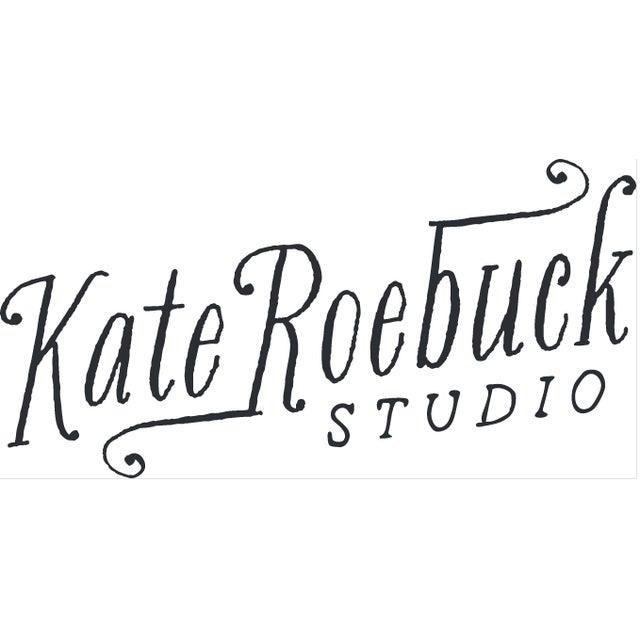 "Kate Roebuck ""Art Deco"" Watercolor & Ink Painting - Image 2 of 6"
