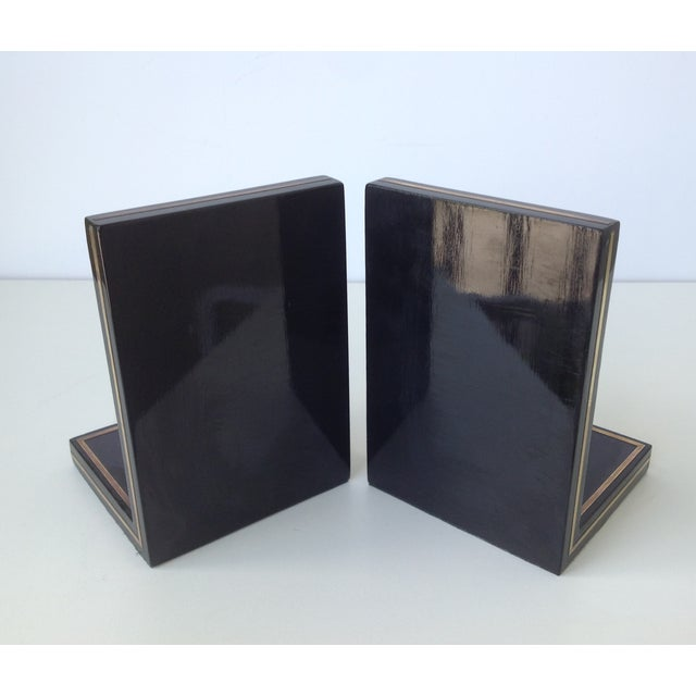 Brass Trout Fish & Wood Bookends - A Pair For Sale - Image 10 of 11