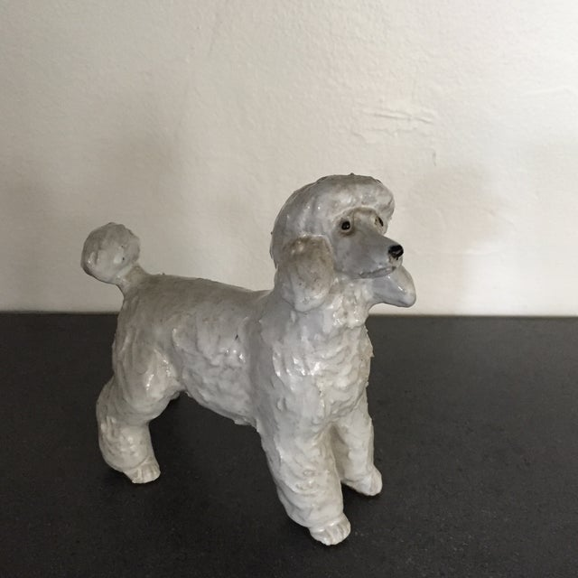 Vintage Pottery Poodle - Image 2 of 8