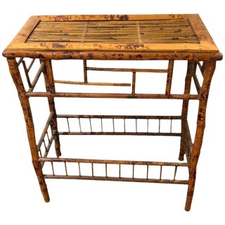 1930s Chinese Authentic Bamboo Console For Sale