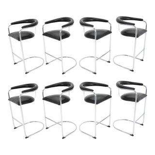 Anton Lorenz for Thonet Bar Stool For Sale
